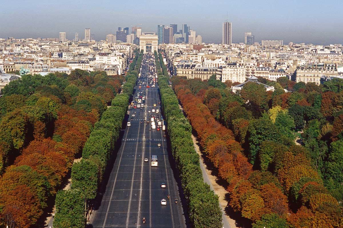 Champs lys es paris avenue prachtstra e paris 360 - Comptoir des cotonniers champs elysees ...