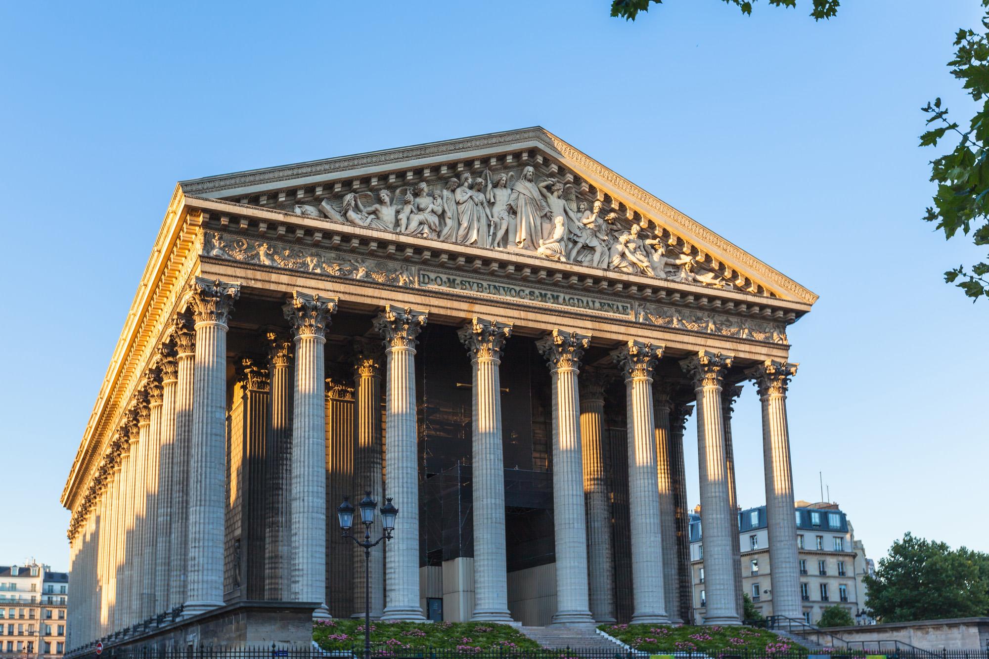 la madeleine paris kirche napoleon griechischer tempel. Black Bedroom Furniture Sets. Home Design Ideas