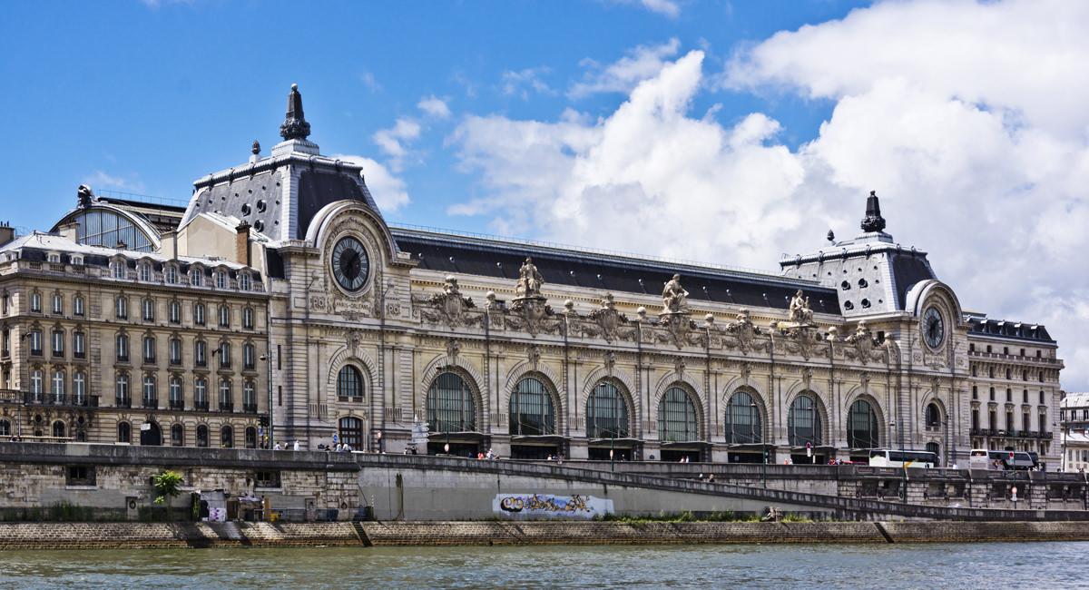 Mus e d 39 orsay paris bahnhof architektur for Exterieur quai le bouillon