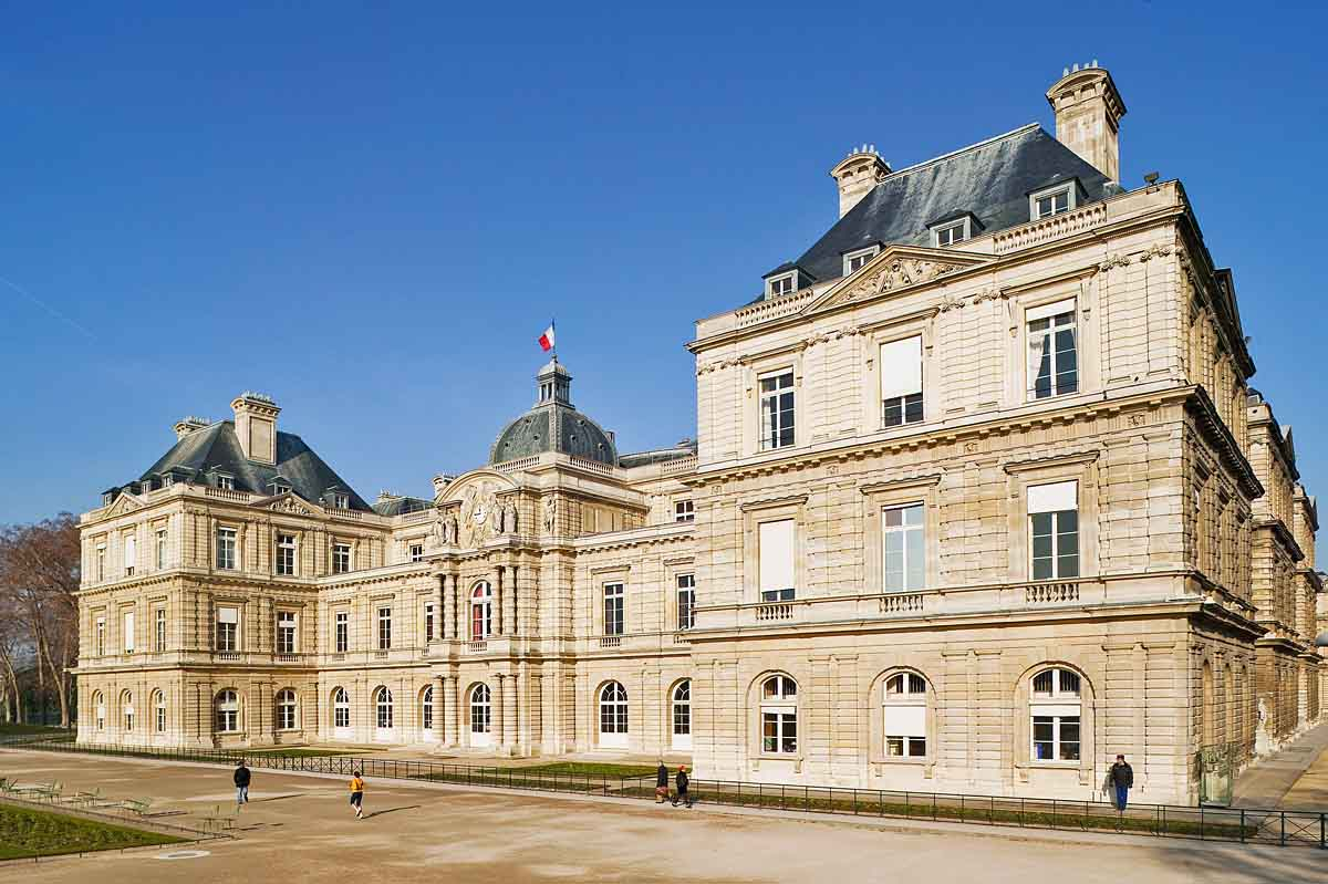 palais du luxembourg paris schloss senat paris 360. Black Bedroom Furniture Sets. Home Design Ideas