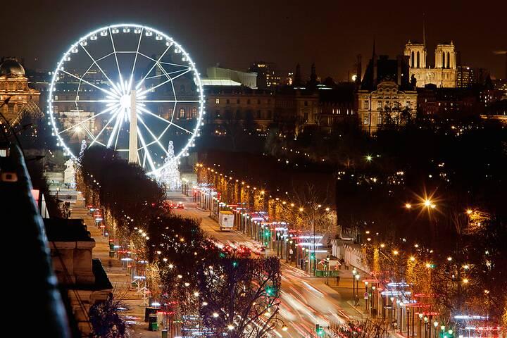 Wann Weihnachtsbeleuchtung.Weihnachtsbeleuchtung Auf Den Champs élysées Paris 360